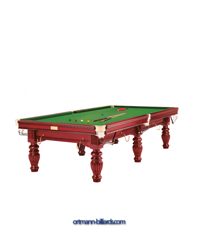 Billiard Table Prince Mahogany Snooker Ortmann Billiards - Billiards table online