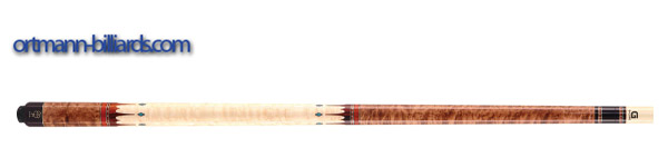 McDermott Pool Queue G407 Birdseye Maple