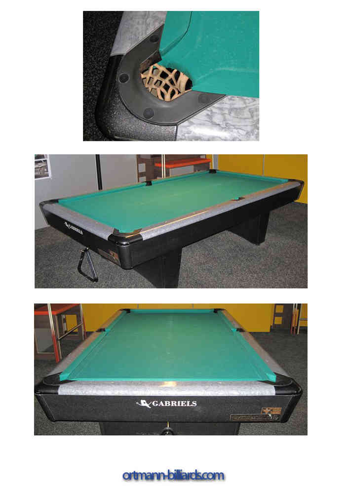 Bon Second Hand Pool Table Gabriels Signature