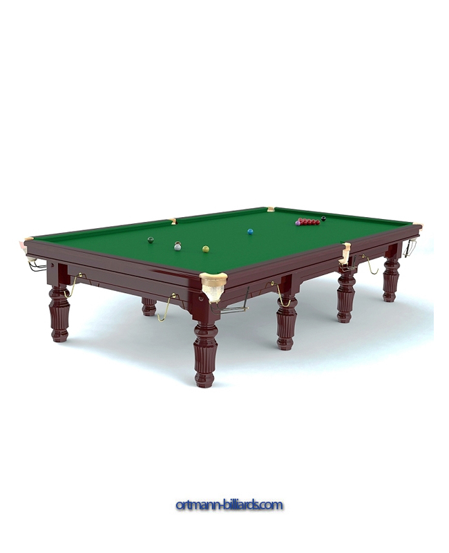 Snooker Table Robertson Tournament Ft Ortmann Billiardscom - Billiards table online