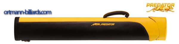 Predator Billiard Hard Case Black Yellow 2x4 Sport