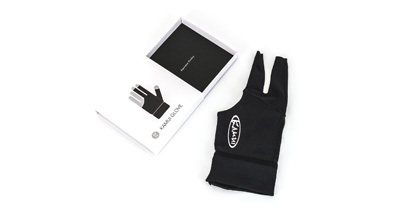 Glove Kamui black Size M for the left hand