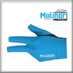 Molinari Glove, cyan, Size L, for the left hand