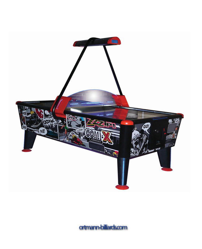Commercial Airhockey Comix 8 Ft