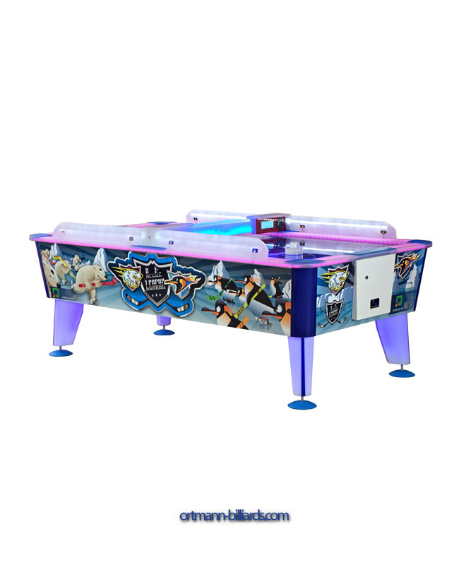 Commercial Airhockey Arctic 8 Ft