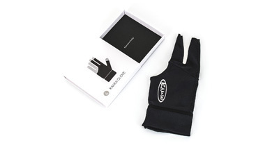 Glove Kamui black Size S for the left hand