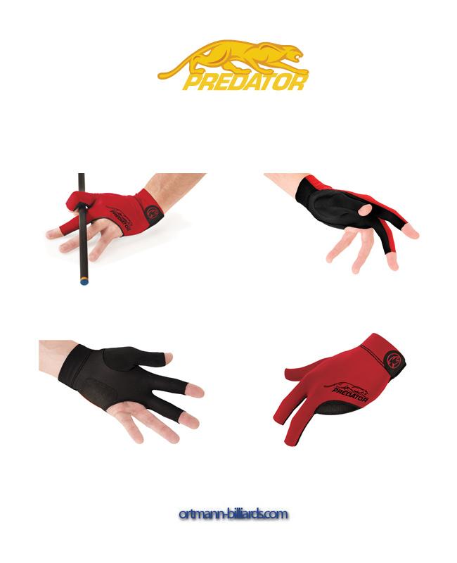 3 Finger Predator Second Skin S//M schwarz-grau Handschuh