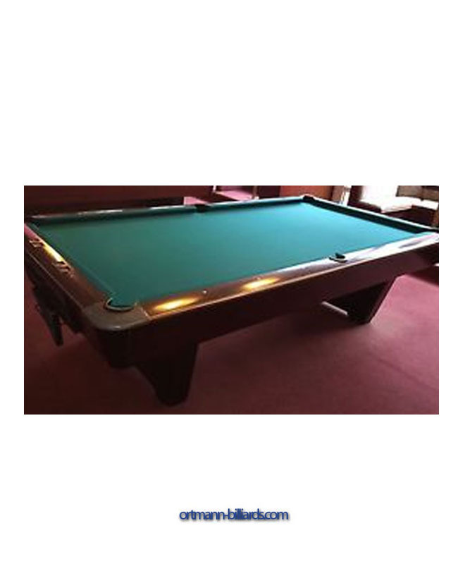 Pool Table Brunswick Medalist 9 Ft 2nd Hand Ortmann Billiards Com Billiard For Tables And Accessoires - Are Brunswick Pool Tables Good