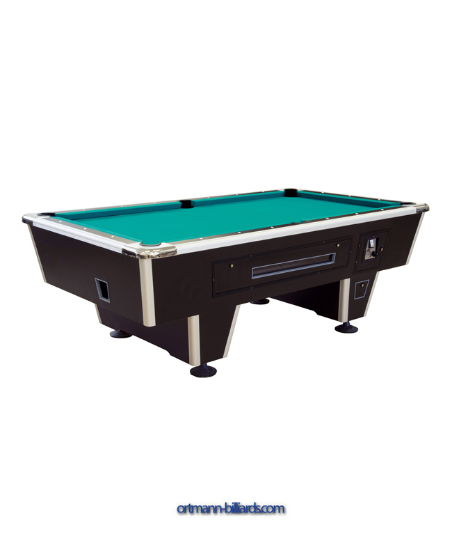 Billiard Table Pool Orlando 6 Ft Black Coin Operated Ortmann Billiards Com For Tables And Accessoires - How Much Room Do You Need For A 6 Foot Pool Table