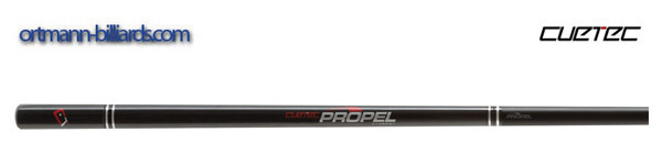 Billiard Cue, Pool, Cuetec Jump Cynergy Propel, black, quick release